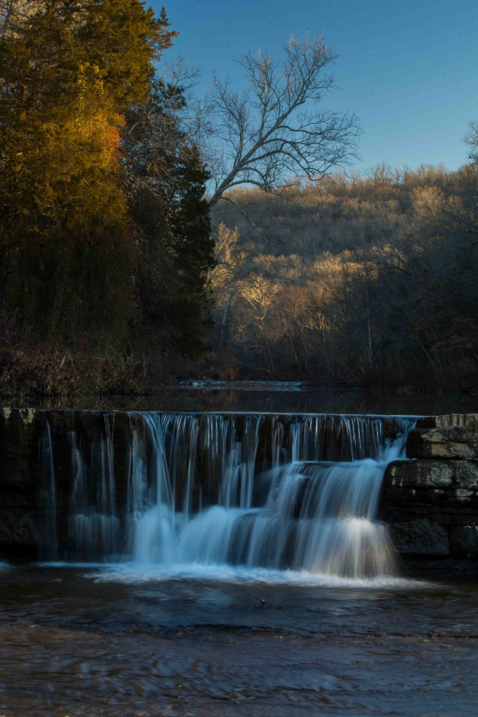 Five Star Trails: The Ozarks, Ozark Mountain waterfalls, Natural Dam