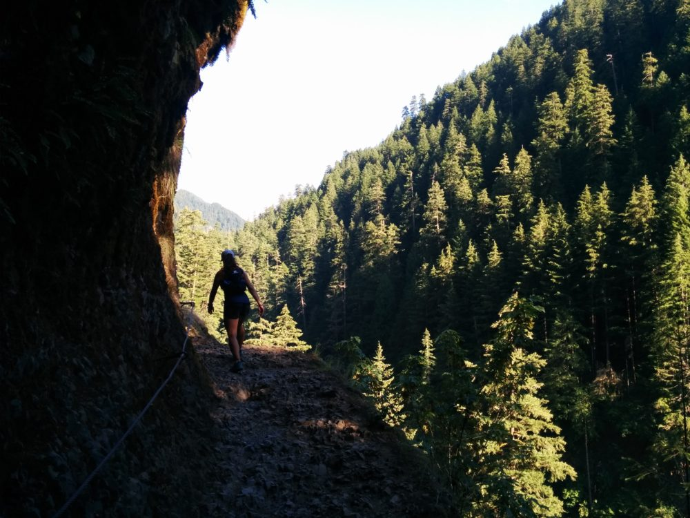 Tunnel Falls, Punchbowl Falls, Columbia River Gorge, Portland, 60 Hikes Within 60 Miles: Portland, Paul Gerald, hiking in Portland, PNW waterfalls