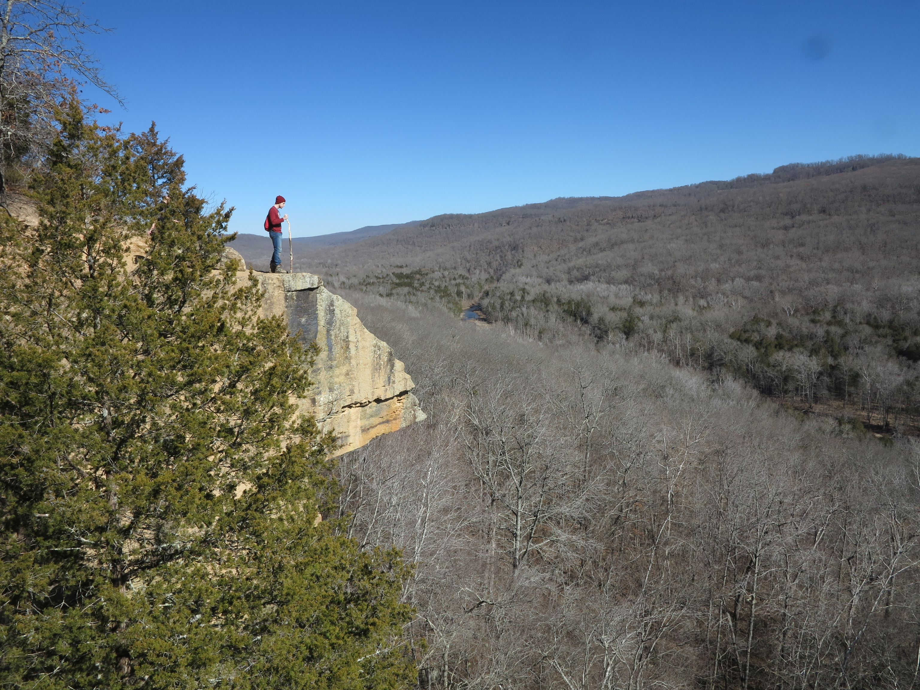 Five-Star Trails: The Ozarks, Arkansas hiking, Missouri hiking, Jim Warnock, Devil's Den, Hiker-dog, hiking in the Ozarks