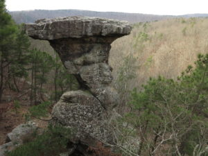 Pedestal Rocks Scenic Area, Arkansas