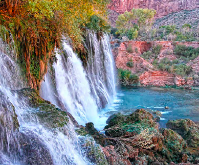 Exploring Havasupai, Greg Witt, bucket list vacations, Havasu,