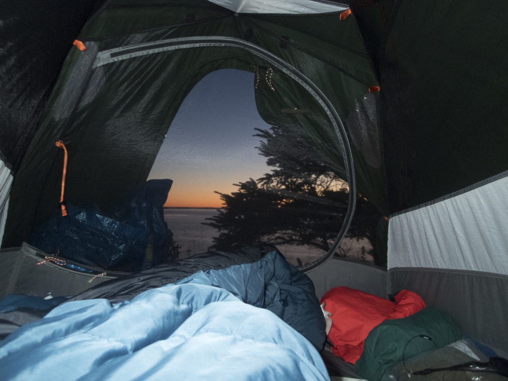 Sex in a Tent, Valentine's Day, romantic camping