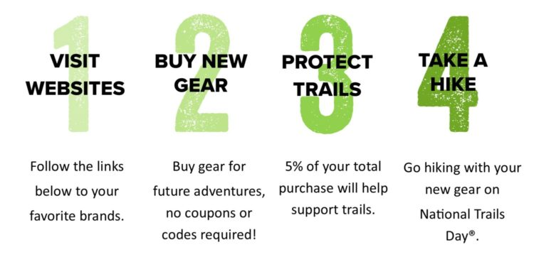 National Trails Day, American Hiking Society, Gear Up Get Out