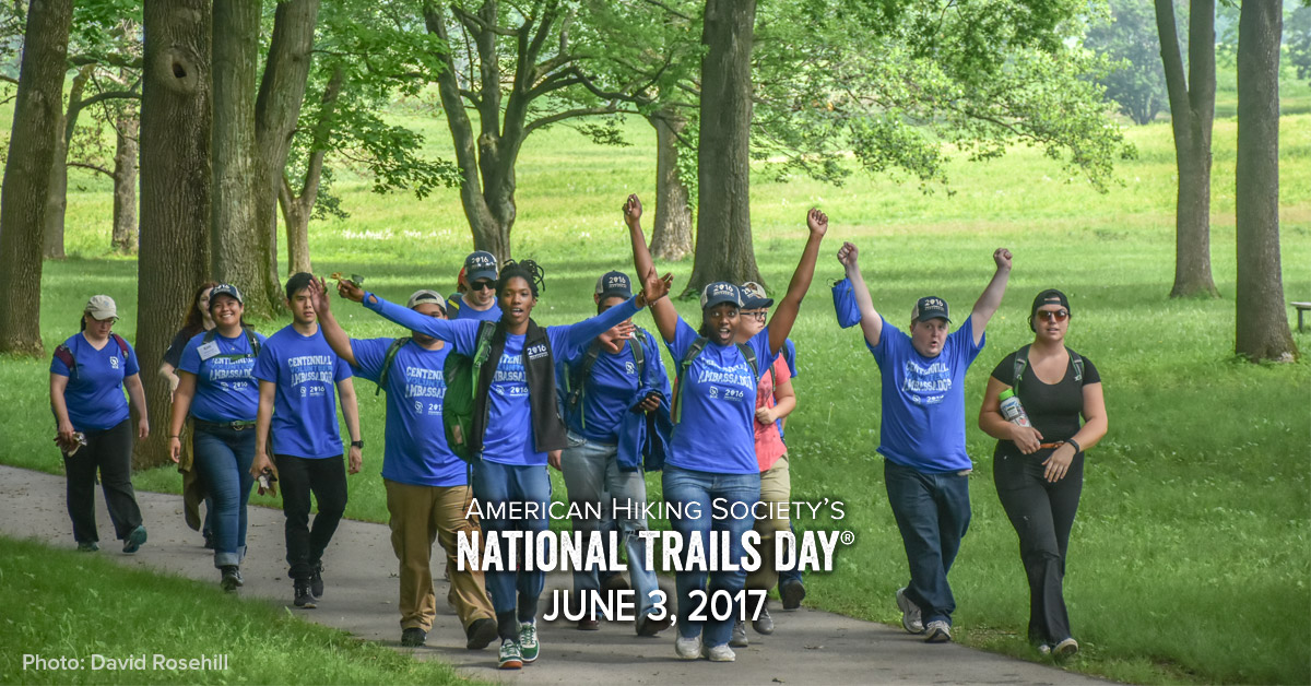 National Trails Day, Jim Warnock, Barbara Saffir, American Hiking Society