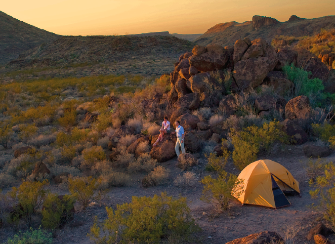 Best Tent Camping: Texas, Wendel Withrow, Big Bend National Park
