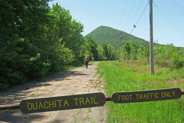 Ouachita Trail, Five-Star Trails: The Ozarks, Jim Warnock