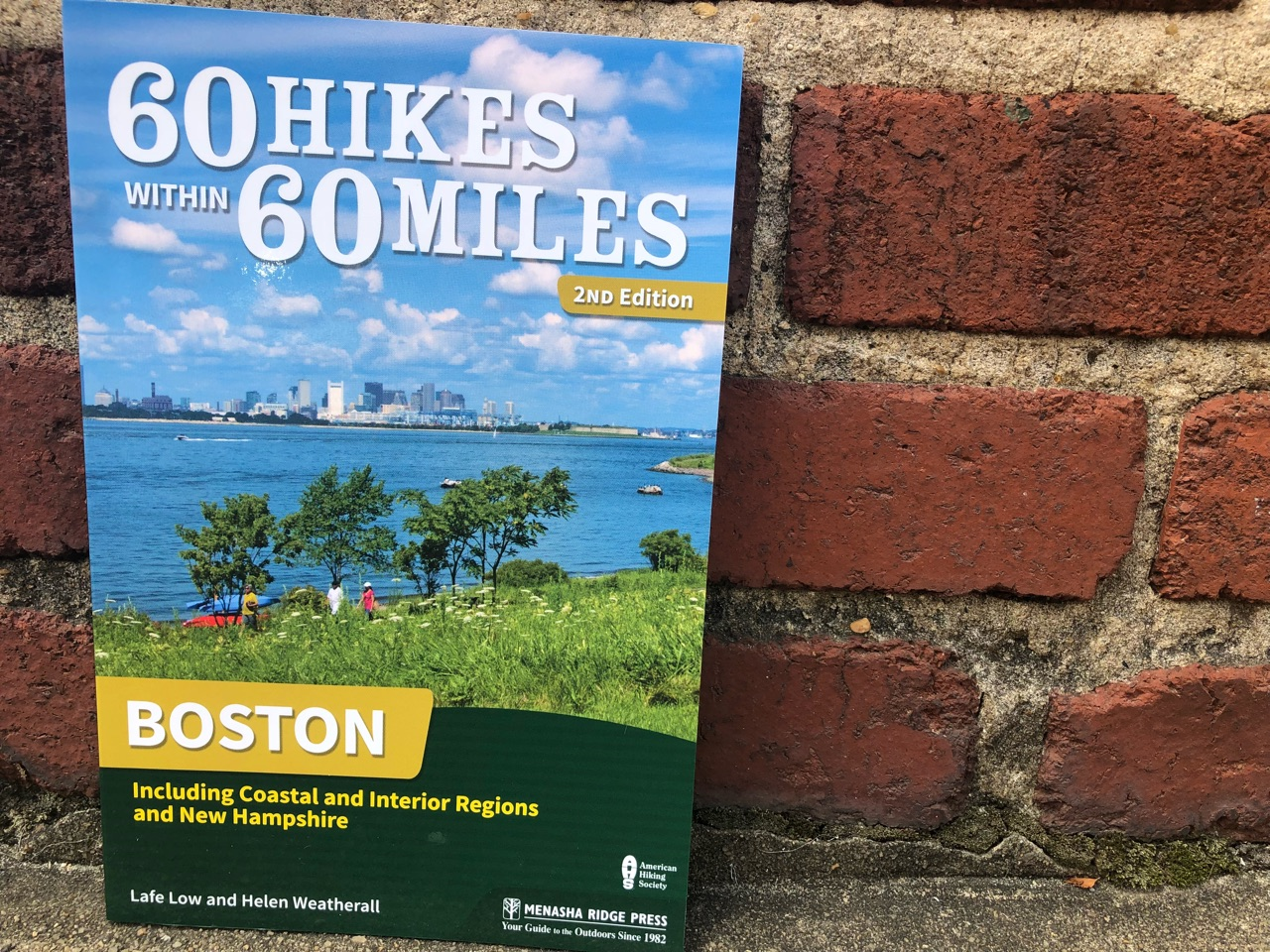 60 Hikes Within 60 Miles: Boston, Lafe Low, Menasha Ridge Press, Boston hiking