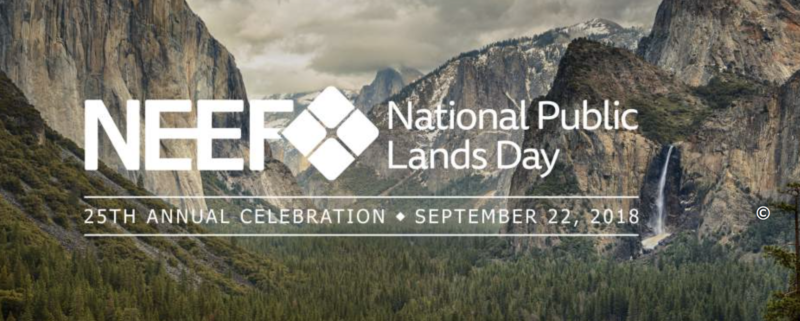 National Public Lands Day, Menasha Ridge Press