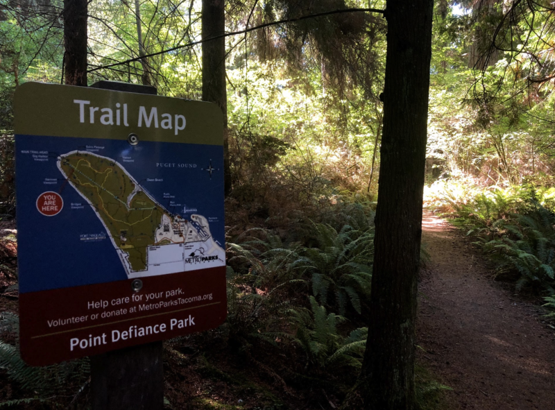 Live Like a Local - Hike, Shop Local Live Local, Tacoma, AdventureKEEN, business traveling tips, Point Defiance Park