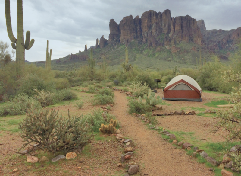 Best Tent Camping: Arizona, Winter camping Arizona