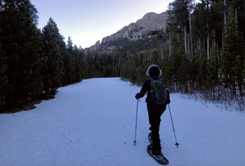 How to go on a snowshoe hike, Menasha Ridge Press, Mindy Sink, 60 Hikes Within 60 Miles: Denver