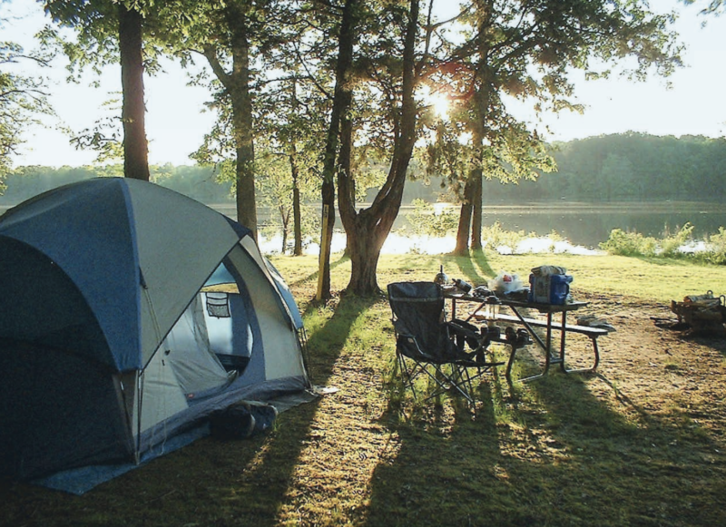 Best Tent Camping: Illinois