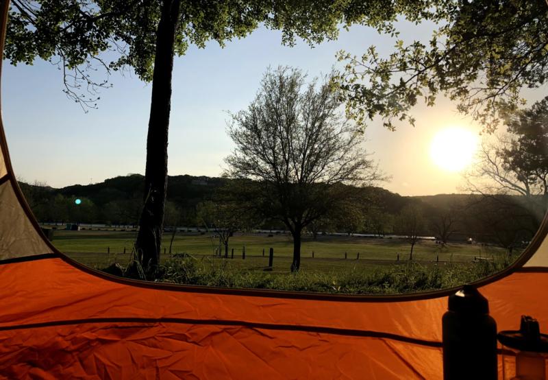 Camping Emma Long Metropolitan Park, Best Tent Camping Texas