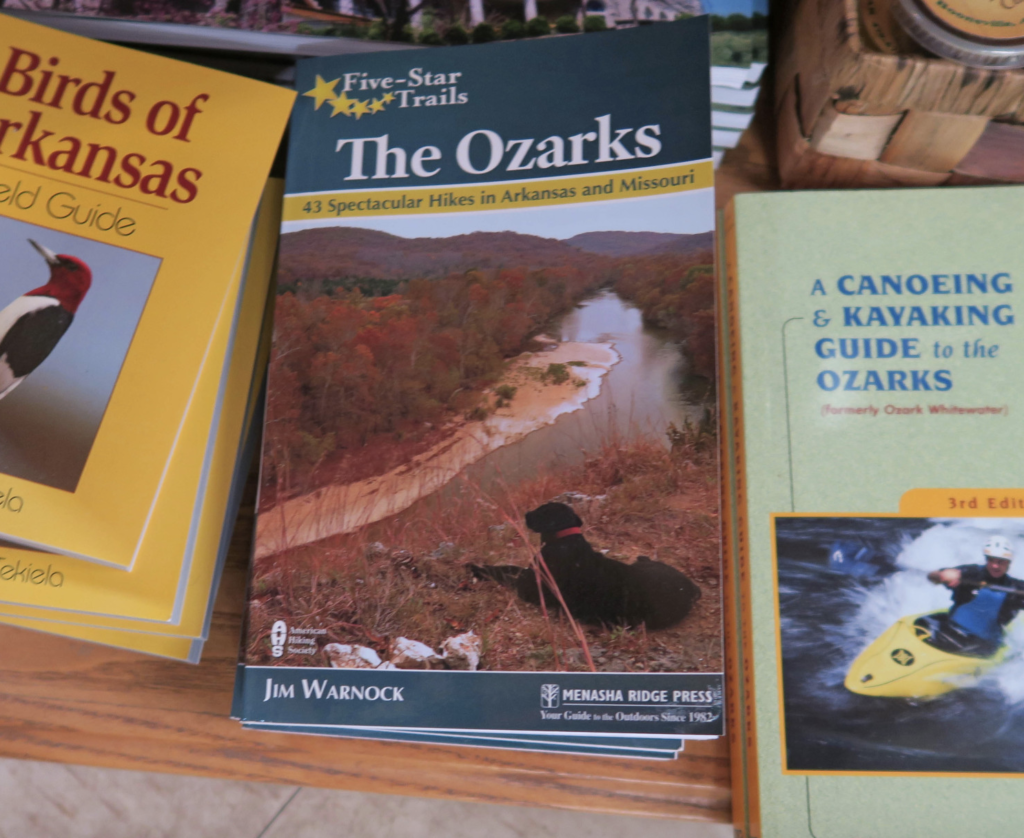 Five-Star Trails: The Ozarks, Menasha Ridge Press, Jim Warnock