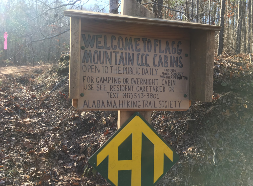 Flagg Mountain, Nimblewill Nomad, Alabama hiking