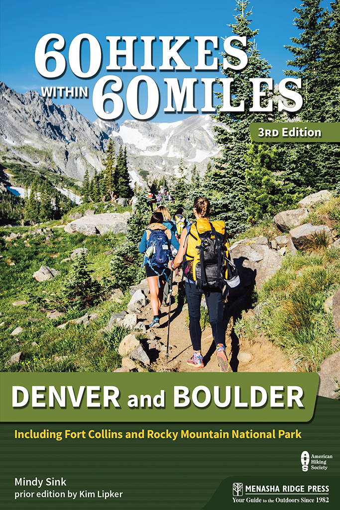 60 Hikes Within 60 Miles Denver and Boulder front cover